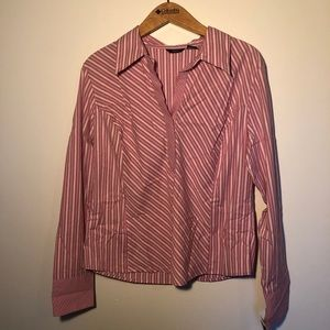 Mossimo Striped Collard Shirt